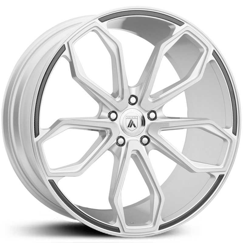 Asanti Black Label ABL-19  Wheels Brushed Silver