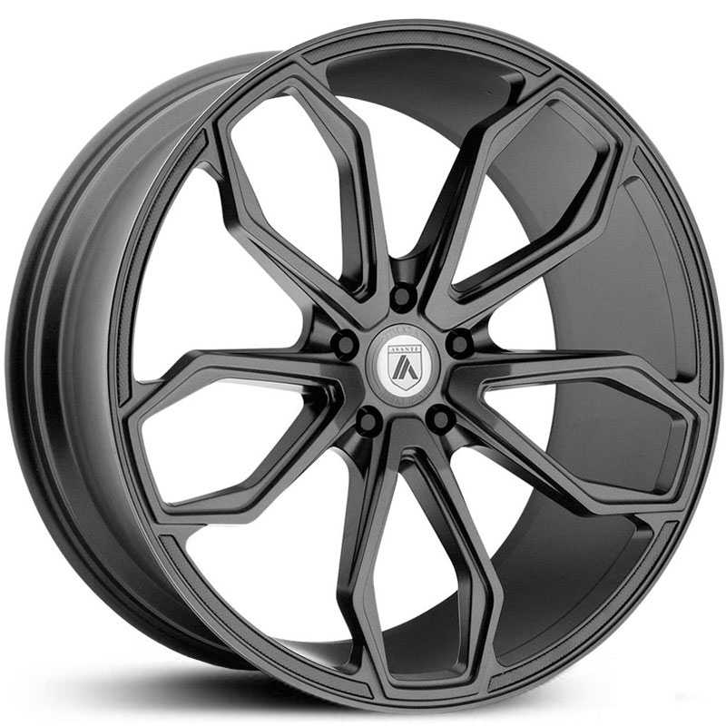 Asanti Black Label ABL-19  Wheels Matte Graphite