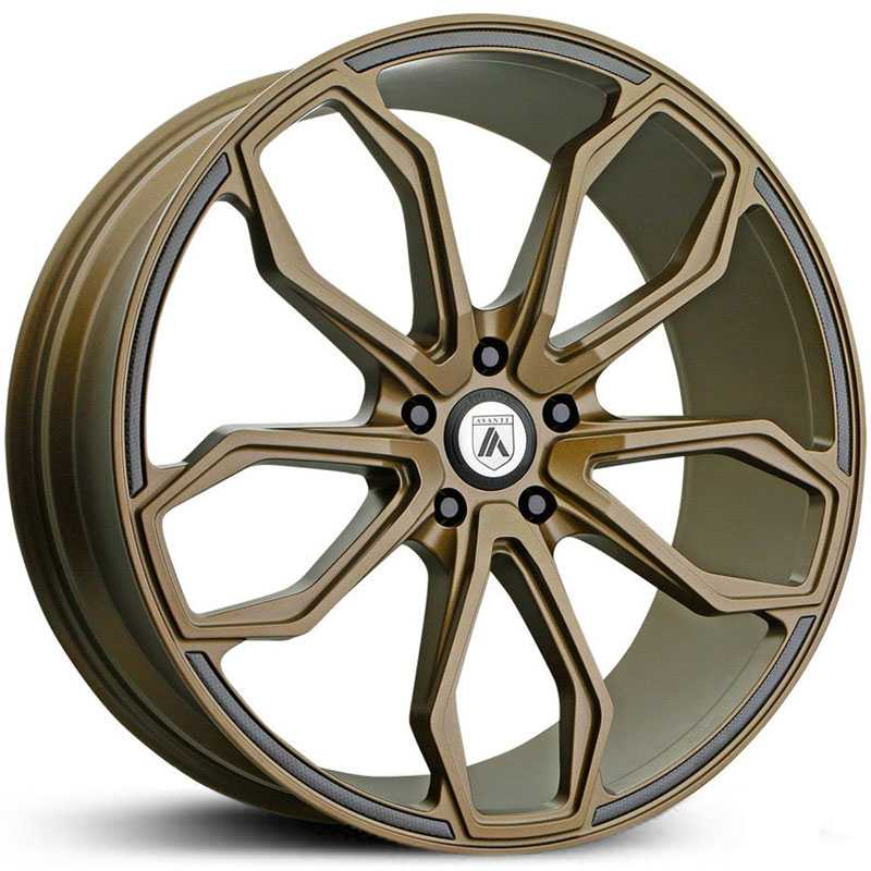 Asanti Black Label ABL-19  Wheels Satin Bronze