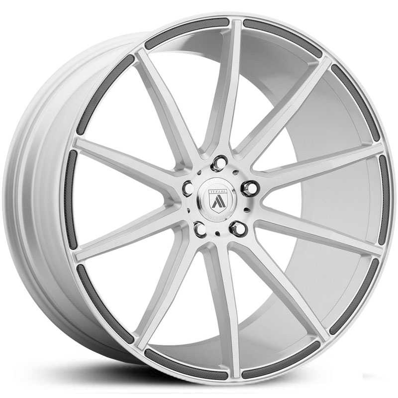 Asanti Black Label ABL-20  Wheels Brushed Silver