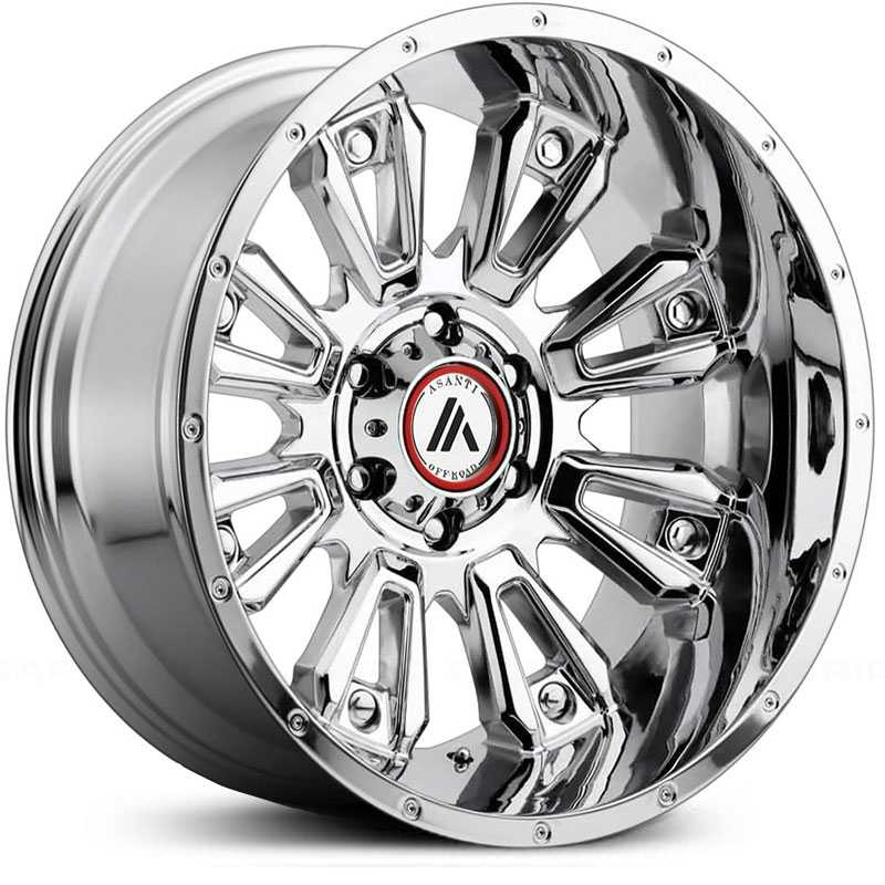 Asanti Off-Road AB808  Wheels Chrome
