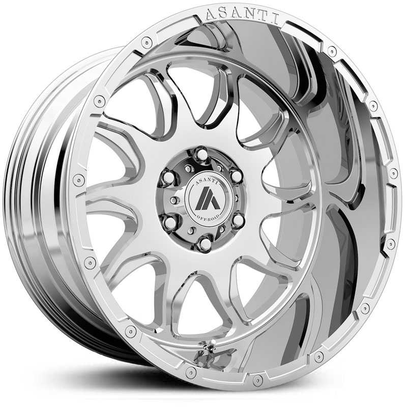 Asanti Off-Road AB810  Wheels Chrome