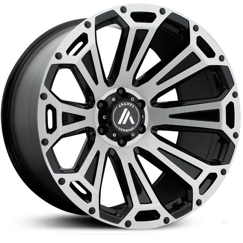 Asanti Off-Road AB813  Wheels Black Brushed