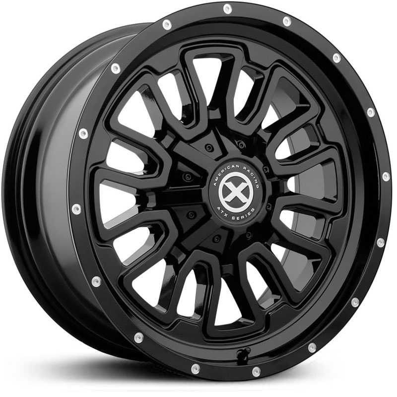 ATX Series AX203   Wheels Gloss Black