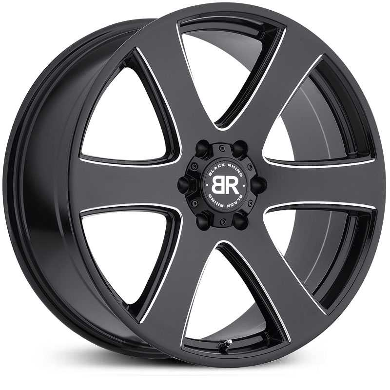 Black Rhino Haka  Wheels Gloss Black