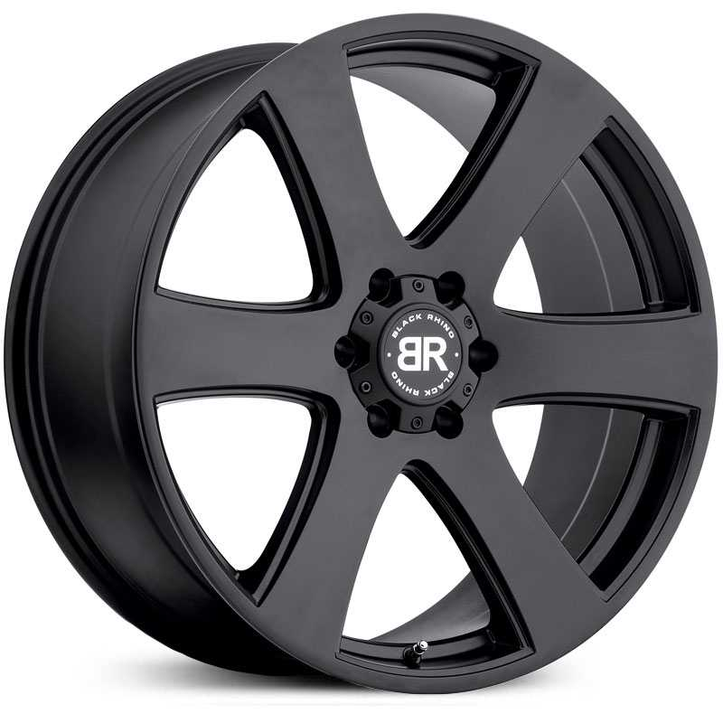 Black Rhino Haka  Wheels Matte Black