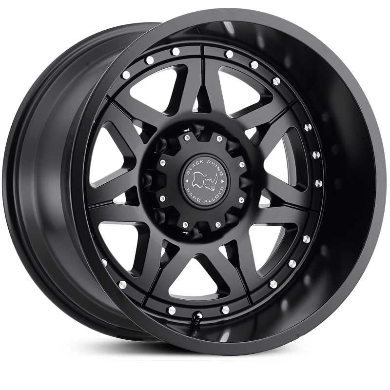 Black Rhino Hammer  Wheels Matte Black