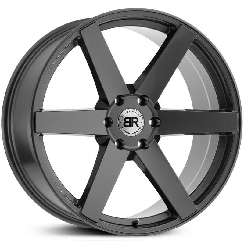 Black Rhino Karoo  Wheels Gloss Gunmetal