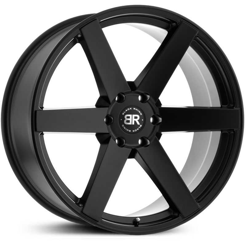 Black Rhino Karoo  Wheels Matte Black