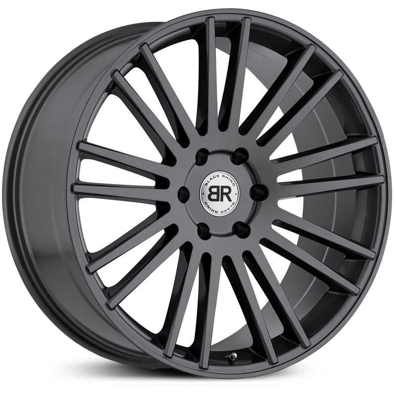 Black Rhino Kruger  Wheels Gloss Gunmetal