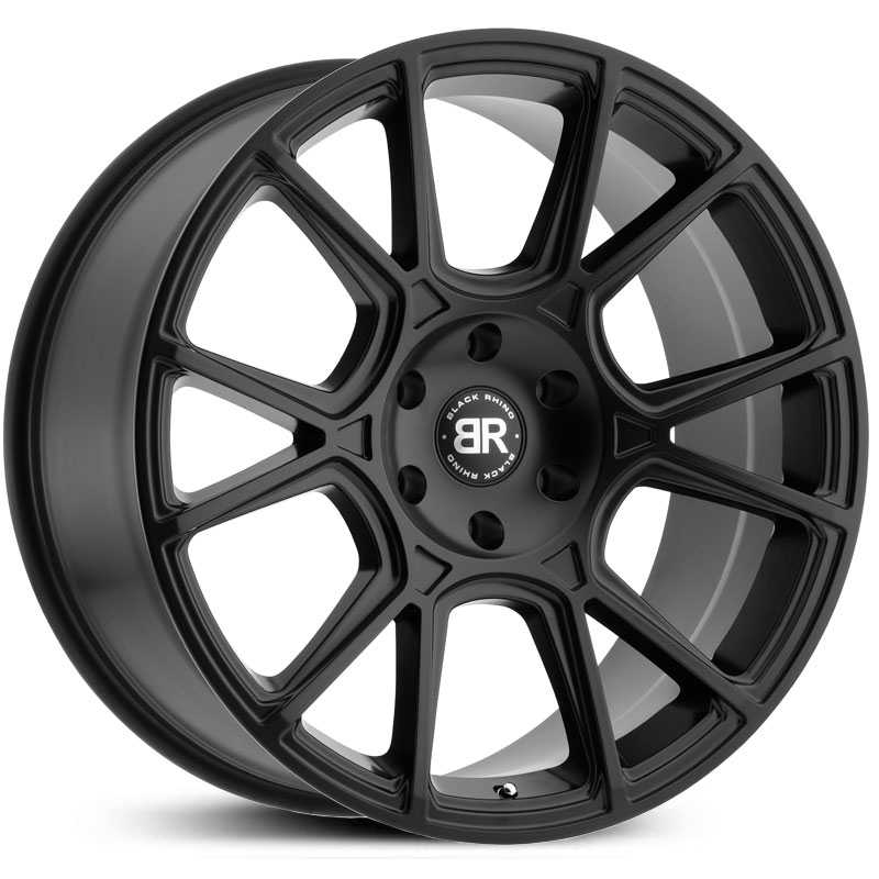 Black Rhino Mala  Wheels Matte Black