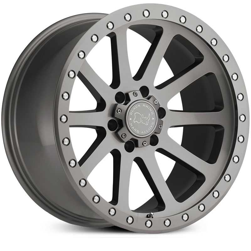Black Rhino Mint  Wheels Gloss Graphite