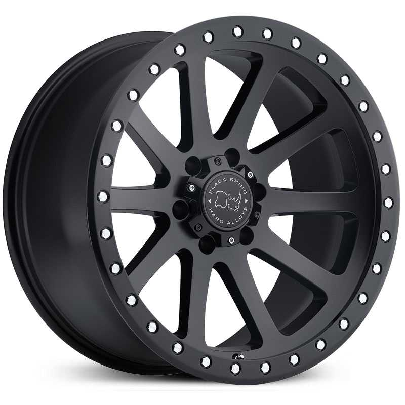 Black Rhino Mint  Wheels Matte Black