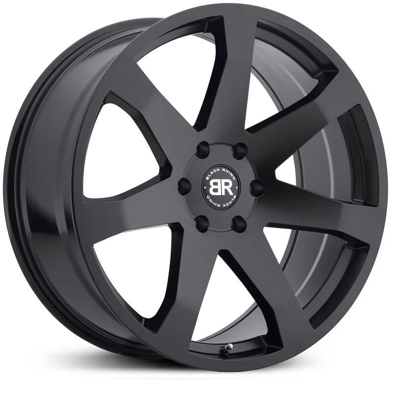 Black Rhino Mozambique  Wheels Matte Black