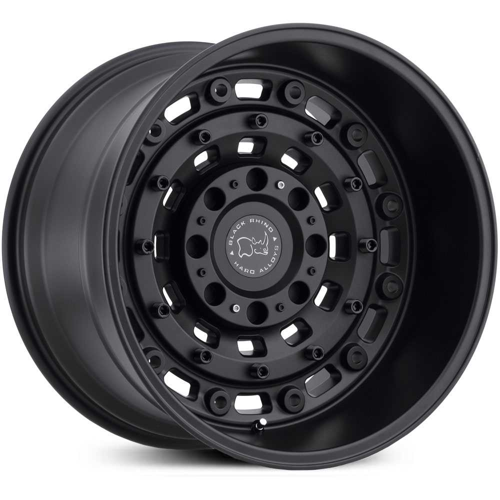 Black Rhino Arsenal  Wheels Textured Matte Black