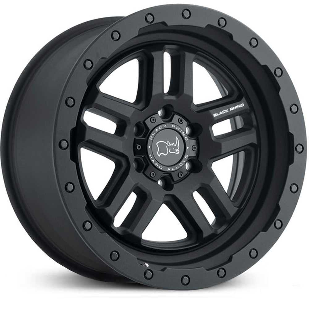 Black Rhino Barstow  Wheels Textured Matte Black