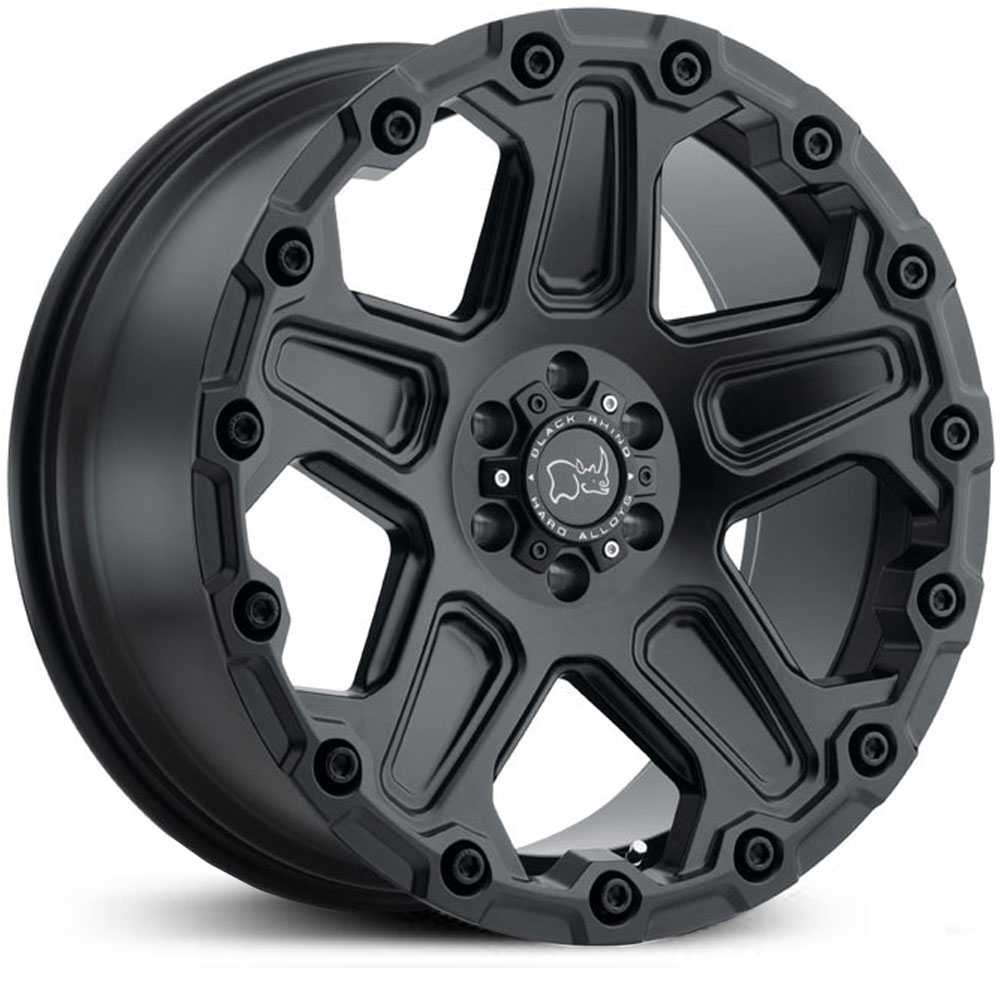 Black Rhino Cog  Wheels Matte Black