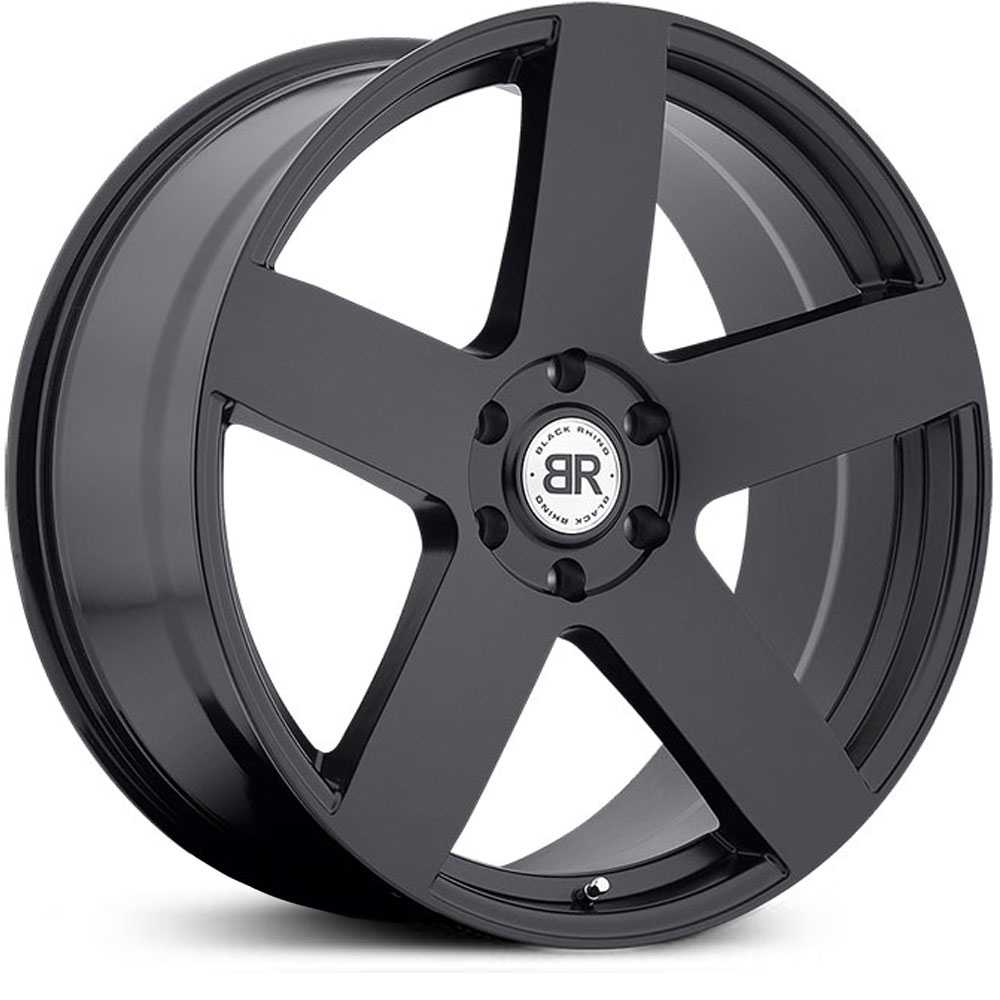 Black Rhino Everest  Wheels Matte Black