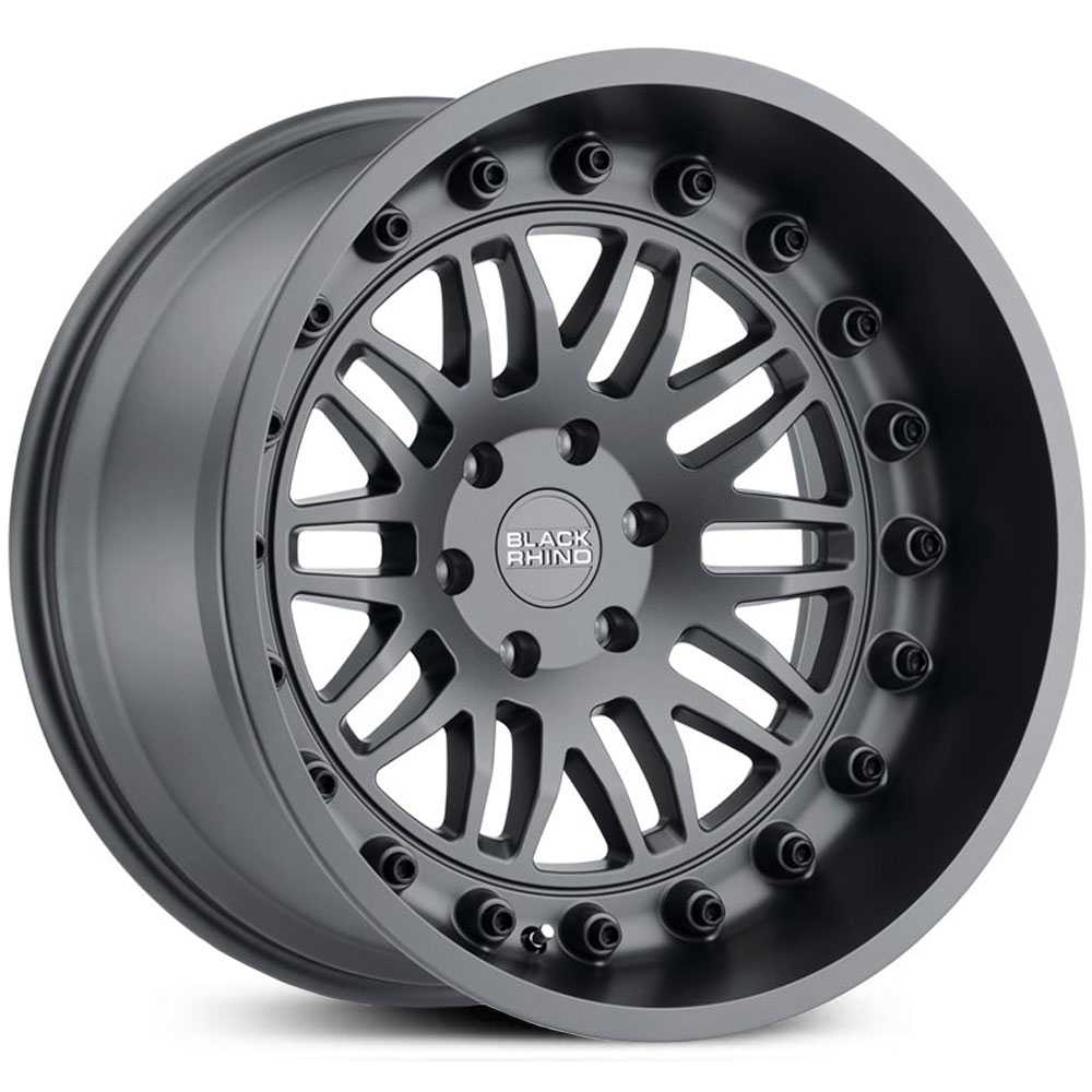 Black Rhino Fury  Wheels Matte Gunmetal