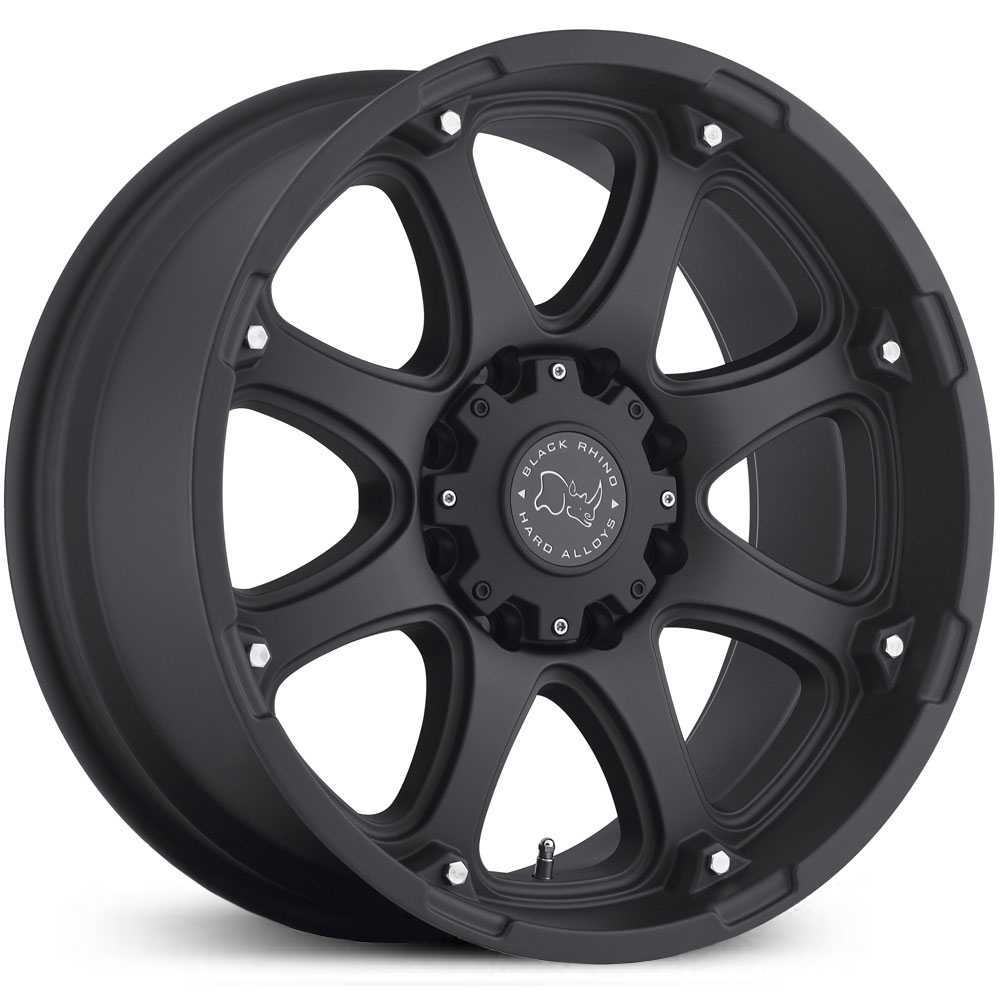 Black Rhino Glamis  Wheels Matte Black