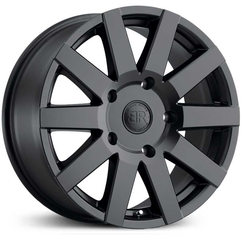 Black Rhino Journey  Wheels Matte Black