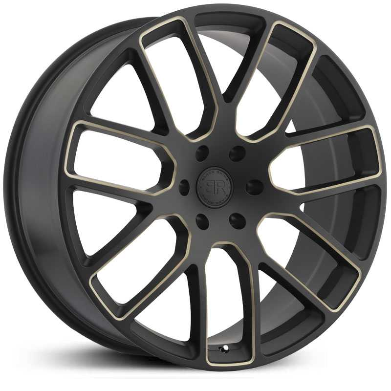 Black Rhino Kunene  Wheels Matte Black Dark Tint Milled