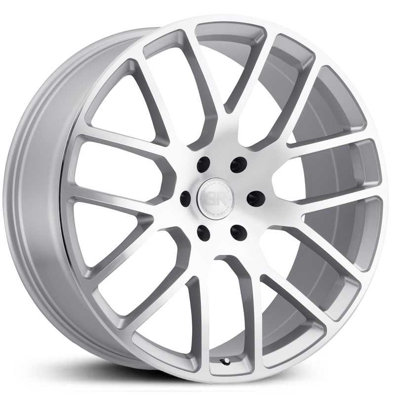 Black Rhino Kunene  Wheels Silver Mirror Cut Face