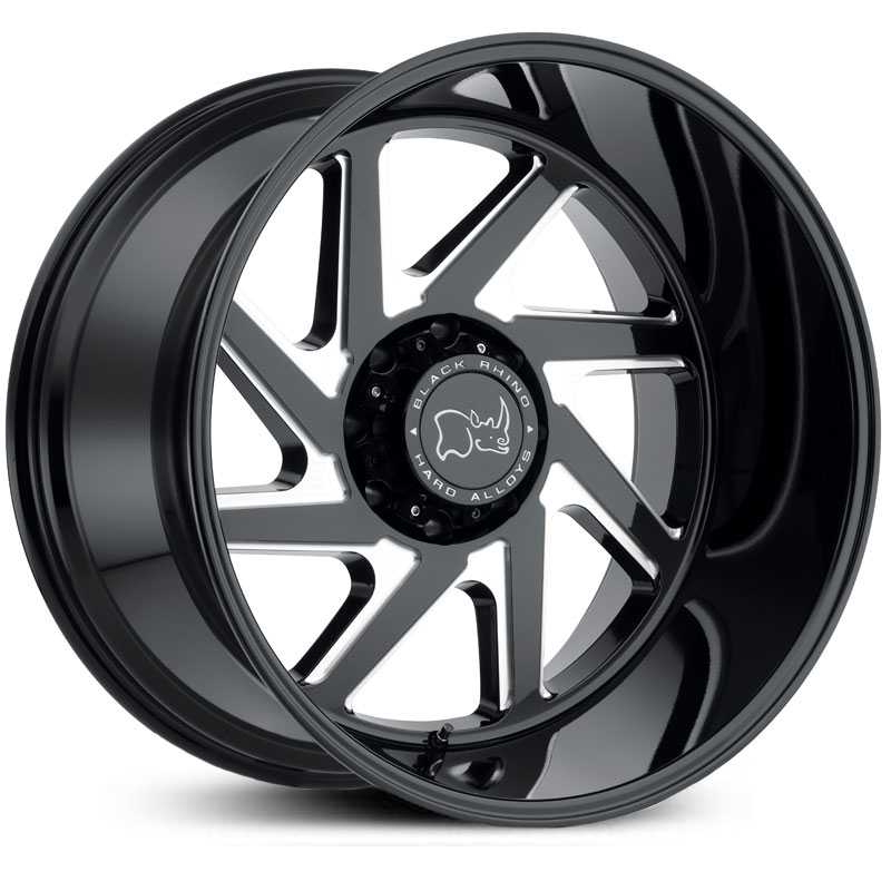 Swerve Gloss Black Double Milled Spokes