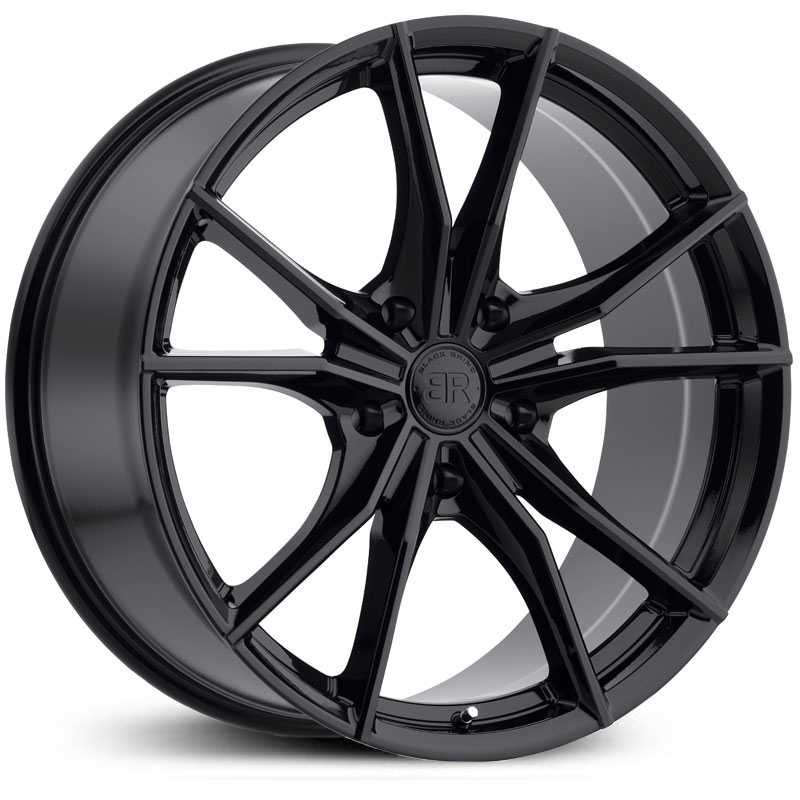 Black Rhino Zion 5  Wheels Gloss Black