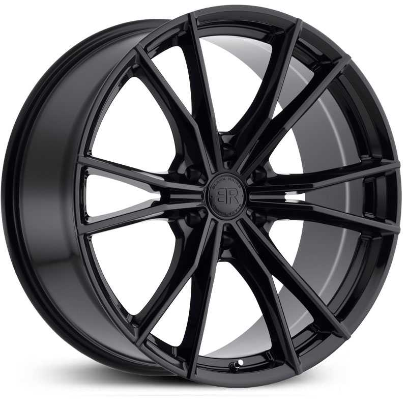 Black Rhino Zion 6  Wheels Gloss Black