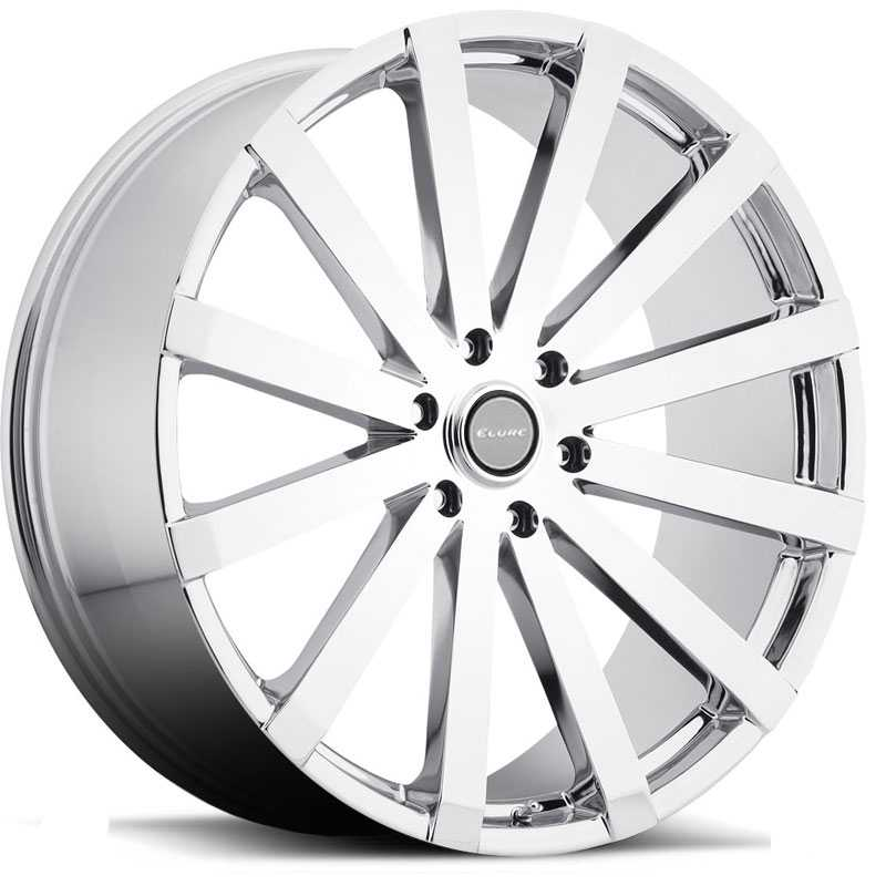 Elure 037  Wheels Chrome 5 Lug