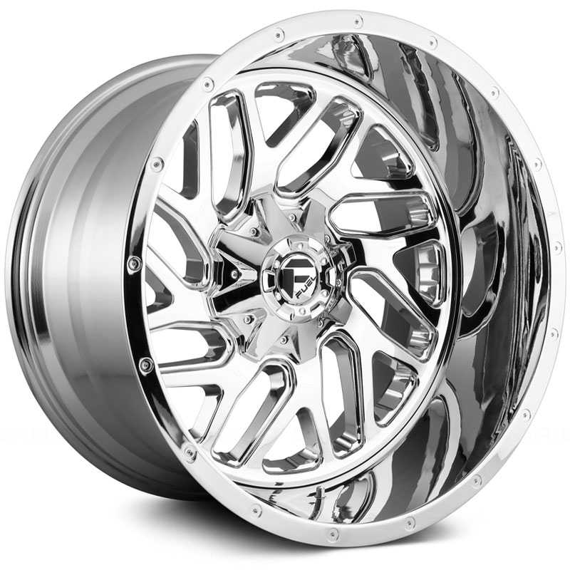 Fuel D210 Triton  Wheels Chrome