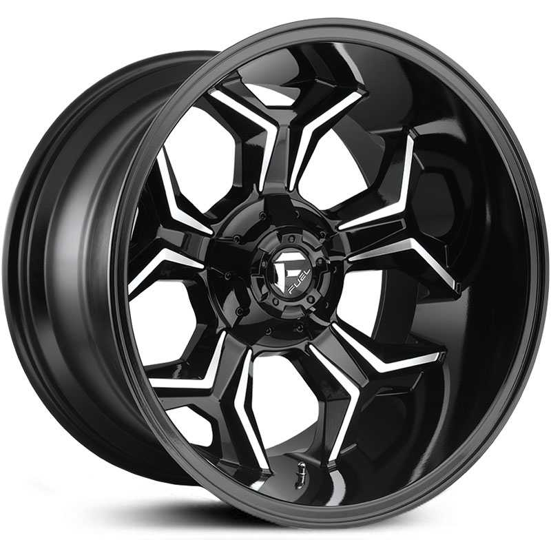 Fuel D606 Avenger  Wheels Gloss Black Machined