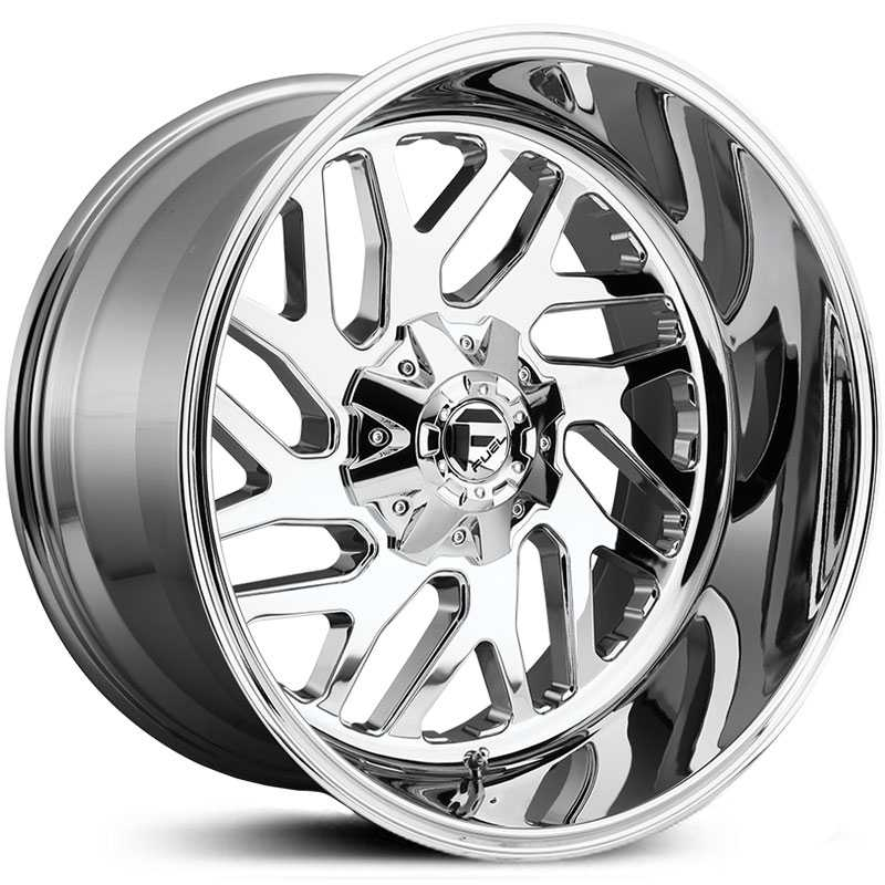 Fuel D609 Triton  Wheels Chrome