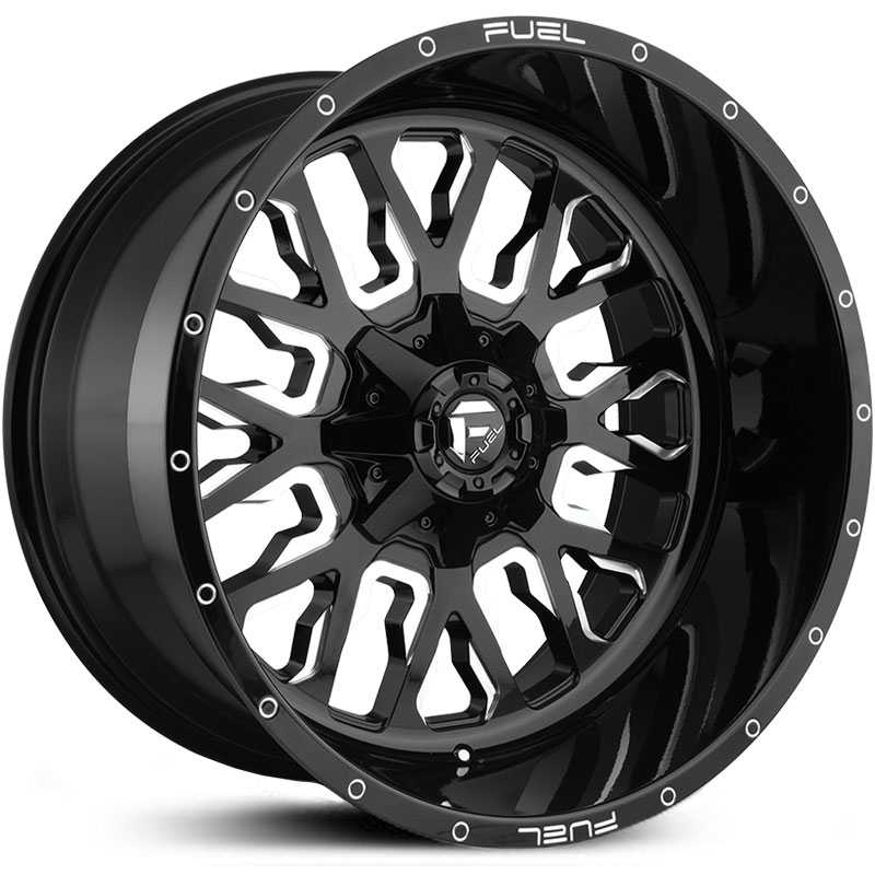 D611 Stroke Gloss Black Milled