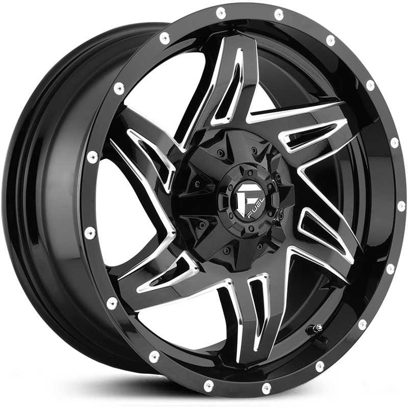D613 Rocker Gloss Black Milled