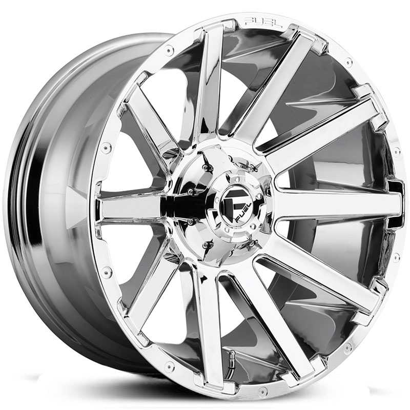 Fuel D614 Contra  Wheels Chrome