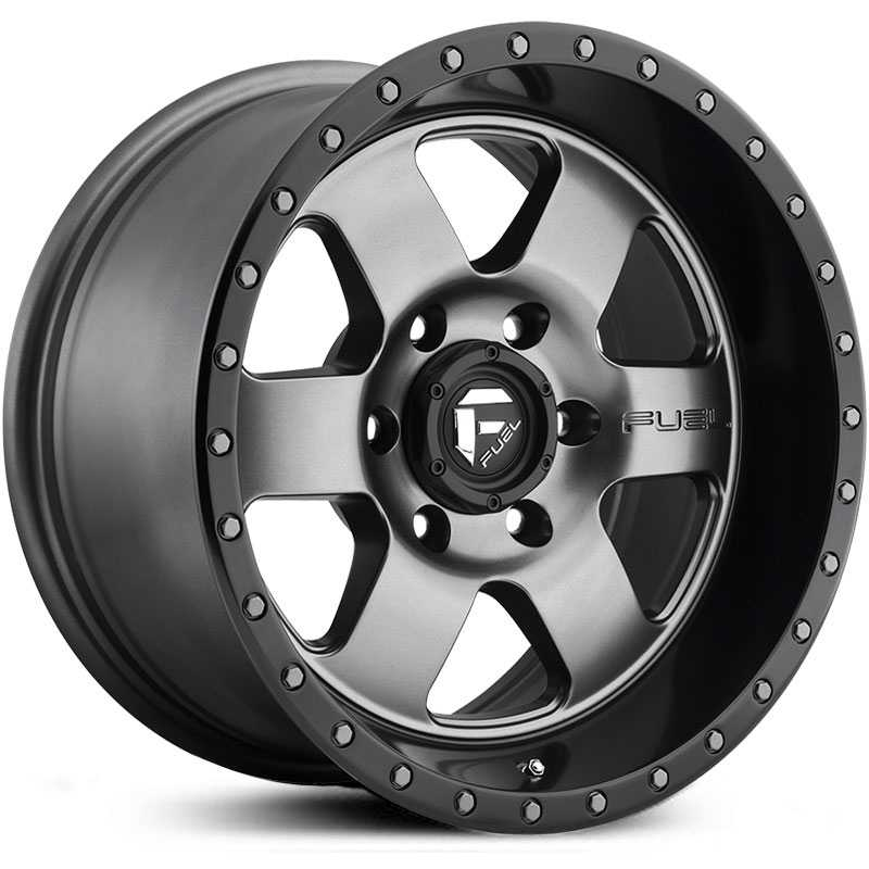 D619 Podium Matte Gunmetal w/ Black Lip