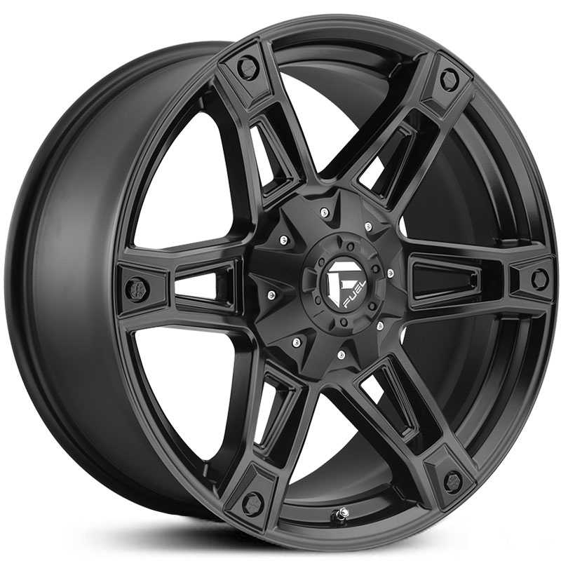 Fuel D624 Dakar  Wheels Matte Black