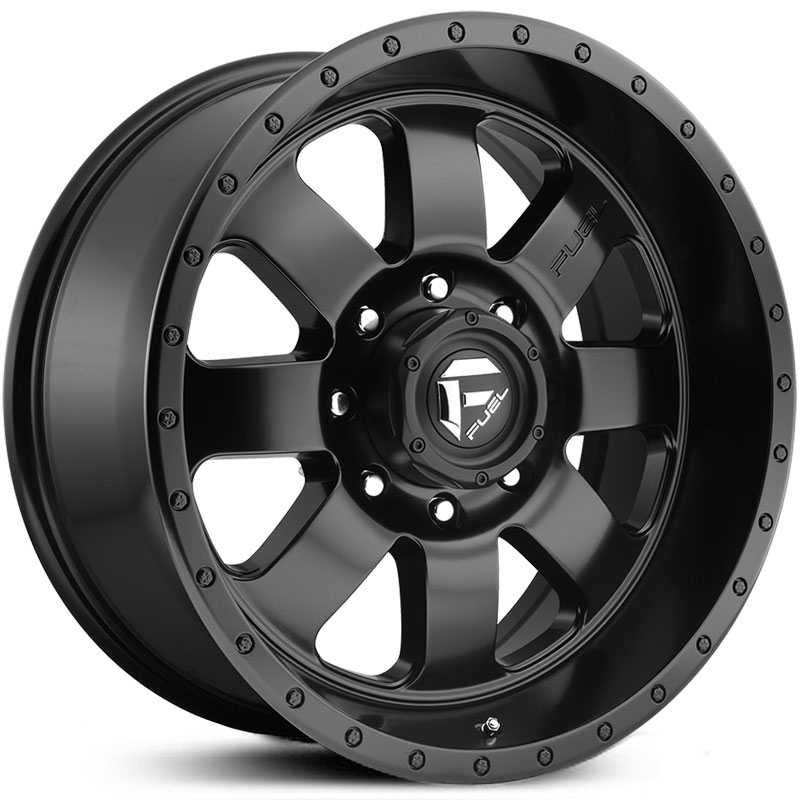 Fuel D626 Baja  Wheels Matte Black