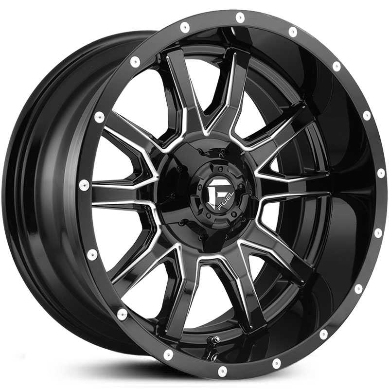 D627 Vandal Gloss Black Milled