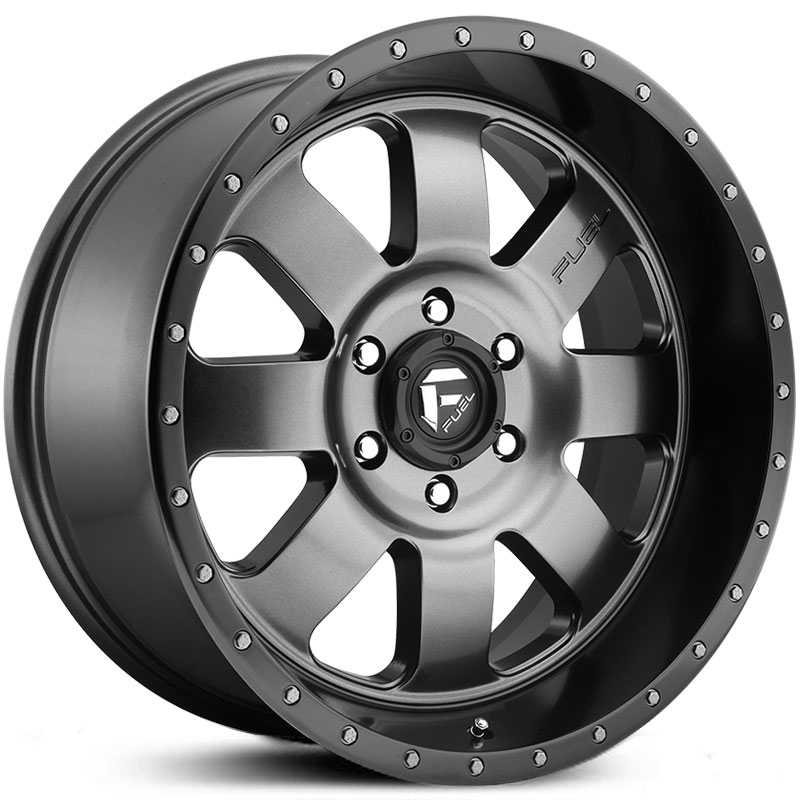 Fuel D628 Baja  Wheels Matte Gunmetal