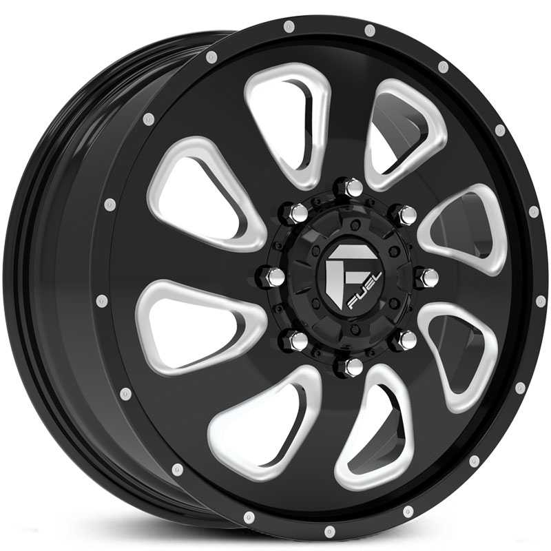 D269 Flow Dually Black Milled (Front)