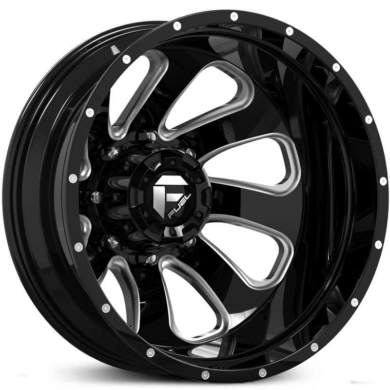 D269 Flow Dually Black Milled (Rear)