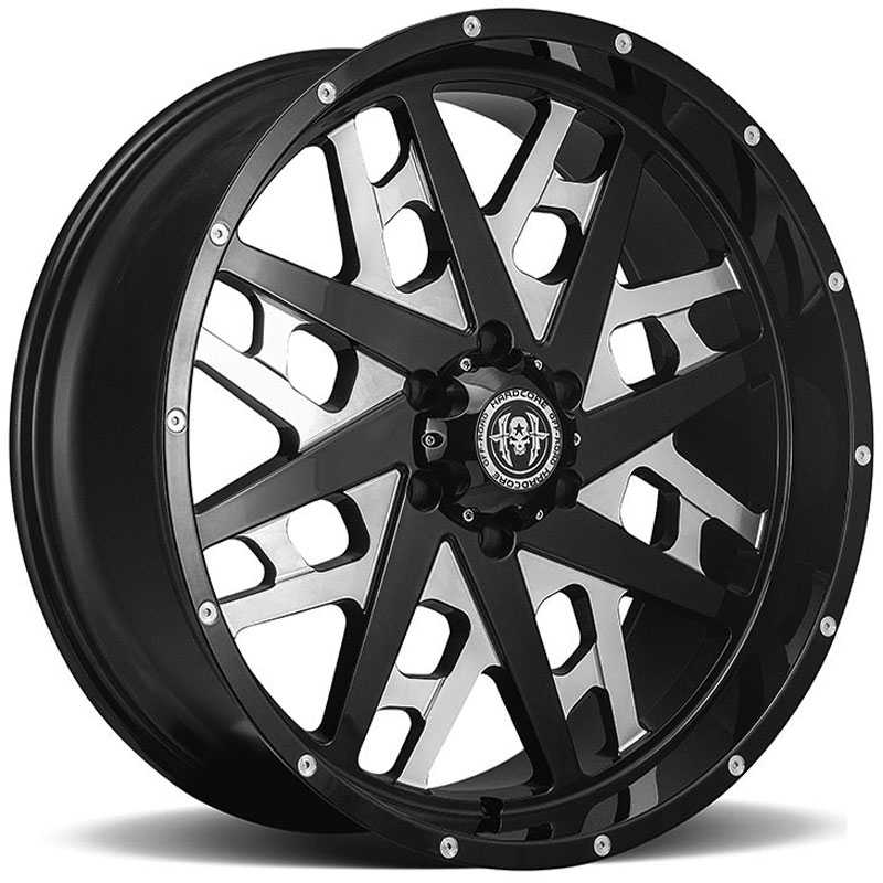 Hardcore Off-Road HC10  Wheels Gloss Black Milled
