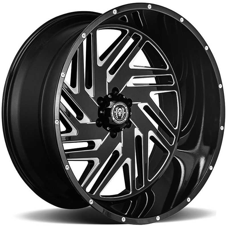 Hardcore Off-Road HC11  Wheels Gloss Black Milled