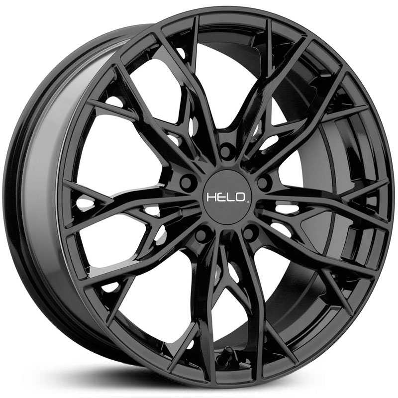 Helo HE907  Wheels Gloss Black