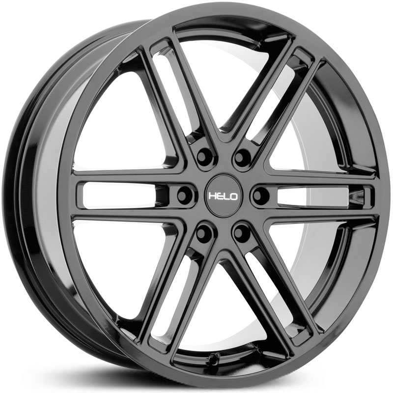 Helo HE908  Wheels Gloss Black