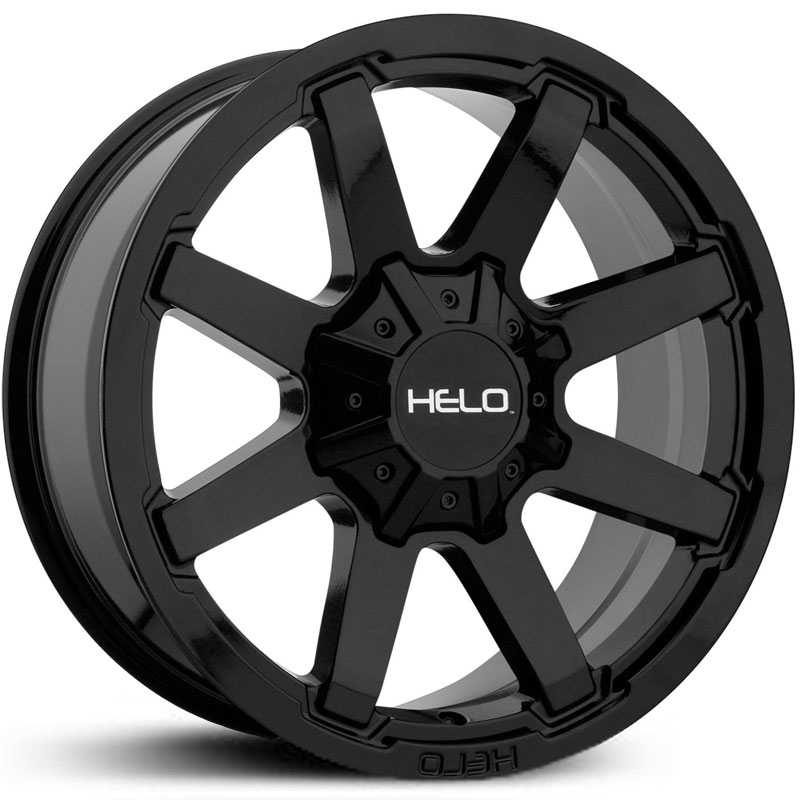 Helo HE909  Wheels Gloss Black