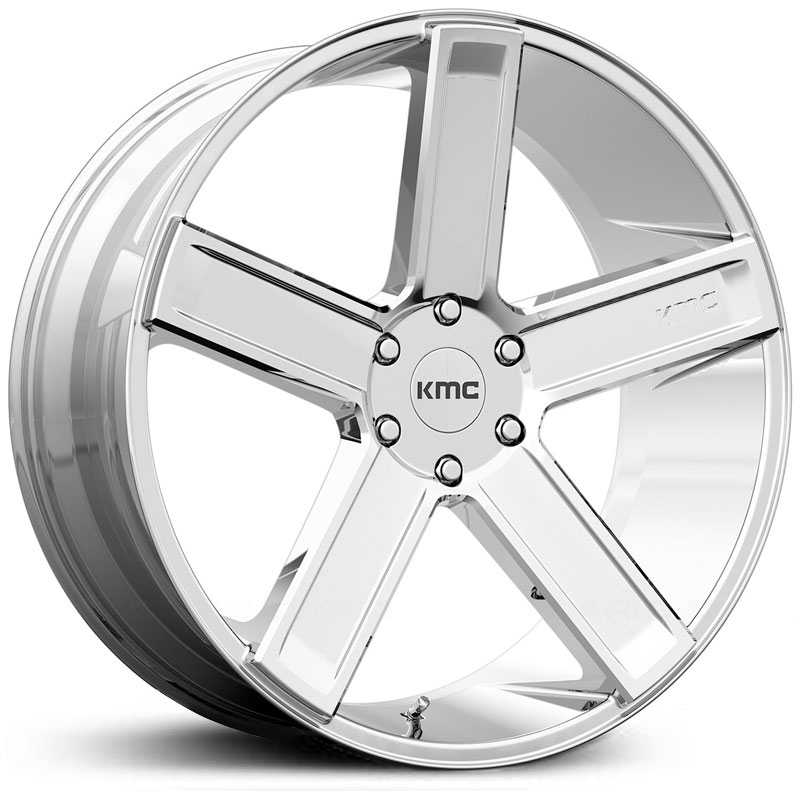 KMC KM702 Duece  Wheels Chrome